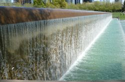 Downtown Park waterfall