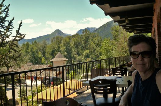 Lunch in Leavenworth