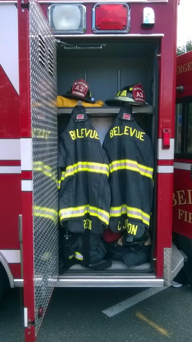 Bellevue Fire Emergency Truck - ambo