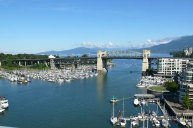 View from Granville Bridge