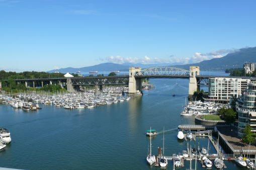 View from Granville Bridge