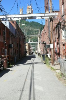 Alleyway Wallace Idaho