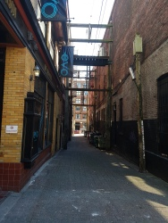 Gastown Alley Vancouver