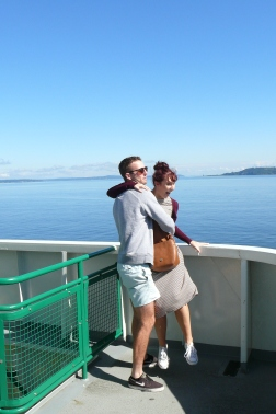 Boat to Bainbridge Island